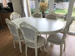french style shabby chic dining table living room ideas