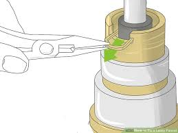 How To Fix Leaky Faucet How To Fix A Leaky Faucet With Pictures Wikihow