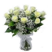 White Roses In A Vase New Berlin Florist Florist In New Berlin Wi 53146 53151 Free