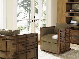 tommy bahama home living room semerang swivel chair 1763 11sw
