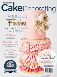 Learn To Decorate Cakes At Home American Cake Decorating