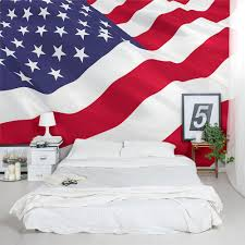 American Flag Picture American Flag Wall Mural