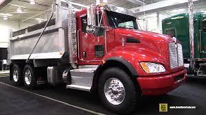 kenworth 2016 models 2016 kenworth t370 px9 20k 40k dump truck exterior and cabin