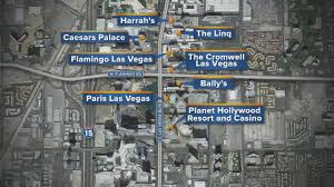 Las Vegas Strip Casino Map by Caesars Says Goodbye To Free Parking On The Strip Youtube