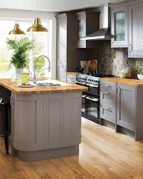 grey kitchen cabinets b q b q on we ve partnered with to bring