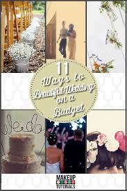 11 ways to have a more beautiful wedding on a budget