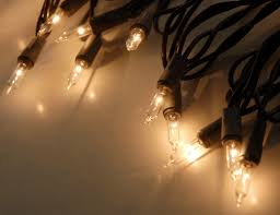 string lights brown wire