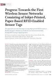 progress towards the first wireless sensor networks consisting of