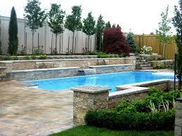 brick wall waterfall backyard u2014 jen u0026 joes design designing the