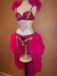 Couples 1920 U0027s Gangster U0026 Flapper Fancy Dress Costume 100 Pink Showgirl Costume Retired Show Collection Choco