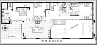 4 Bedroom Two Storey House Plans Two Story House Plans Queensland Home Deco Plans