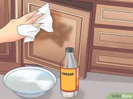 how to clean laminate cabinets with vinegar 3 ways to clean laminate cabinets wikihow