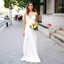 Wedding Dressing Married In New York Wedding Dress Instagram Popsugar Fashion
