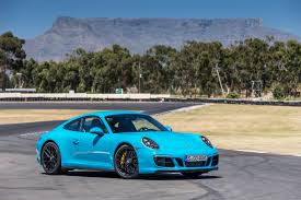 miami blue porsche boxster 2017 porsche 911 carrera 4 gts review gtspirit