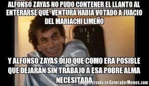 Alfonso Zayas Meme - alfonso zayas no pudo contener el llanto al enterarse que ventura