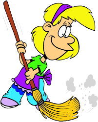 clean room clipart students up kid cleaning the house stoc