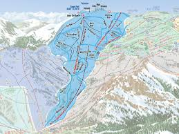 Squaw Trail Map Headwall Squaw Alpine
