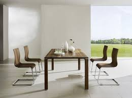 Comfy Dining Room Chairs by Simple Comfy Dining Table Set In Modern Minimalist Kitchen Decor