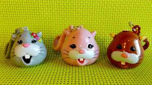 3 zhu zhu pets candy dispenser lollipop opening toys