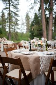 lace table runners wedding grass valley wedding by acres of hope photography burlap lace