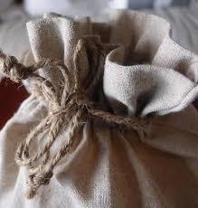 linen favor bags large 10 x 12 linen drawstring bags