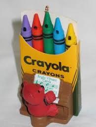colorful dreams crayola 2007 hallmark ornament collection