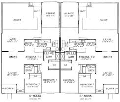 Garden Apartment Floor Plans Duplex Garden Apartment Floor Plans Life Is Good In Arizona
