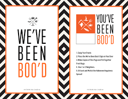 Halloween Craft Printable by You U0027ve Been Boo U0027d Halloween Kit The Crafting