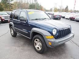 2006 jeep liberty trail used jeep liberty for sale with photos carfax