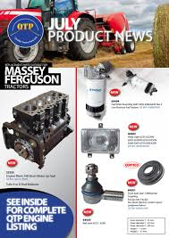 qtp july product news by quality tractor parts issuu