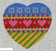 145 best needlepoint hearts valentines images on