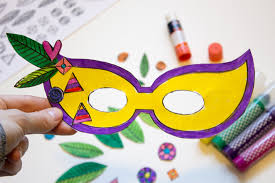 mardi mask diy mardi gras masks with printable made it