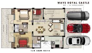 Castle Floor Plan by Wave Royal Castle Nh 24 Ghaziabad Plots Flats Residential
