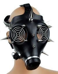 Halloween Costume Gas Mask Survive Apocalypse Stay Fashion Scrap U0027s