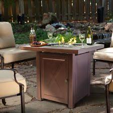 round propane fire pit table propane fire pit ebay