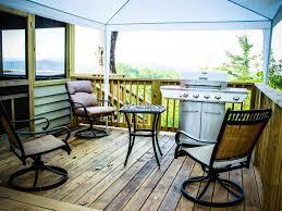 amazing cabin 3 bedroom with loft new decks tub overlooking