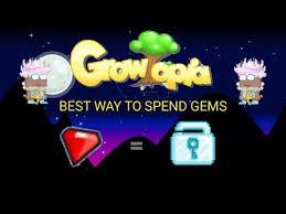 growtopia best way to spend gems in 2017