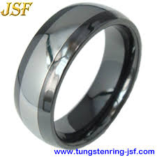 ceramic rings images Black ceramic ring tungsten rings tungsten wedding band black jpg