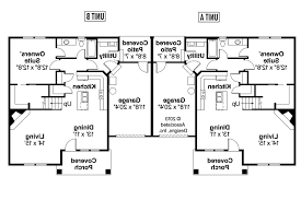 duplex floor plans single story one level house plan stupendous