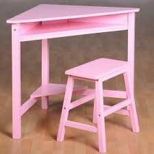 Corner Sewing Table by Girls Corner Desk U0026 Stool Wood Computer Workstation Kids Desk