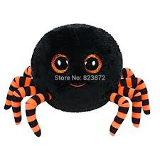 ty beanie boos crawly halloween spider black plush toys ty big