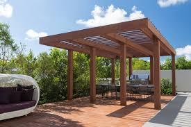 modern pergola south miami townhouse contemporary deck miami by touzet studio