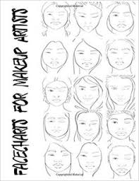 Books For Makeup Artists Facecharts For Makeup Artists Shelby Blake Anderson