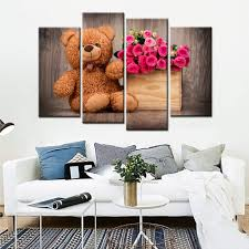 Posters Home Decor Online Get Cheap Teddy Bear Poster Aliexpress Com Alibaba Group