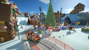 planet coaster free winter update includes new shops rides and