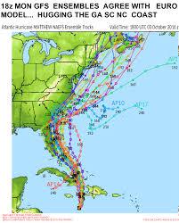 New England Coast Map by Hurricane Matthew Blog Page Wxrisk Com
