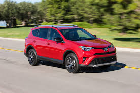 small toyota suv 2017 toyota rav4 reviews and rating motor trend