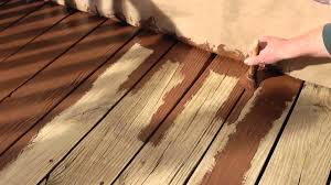 how to resurface a wood deck with olympic rescue it youtube