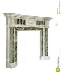 stunning fireplace surround in green white marble antique victor