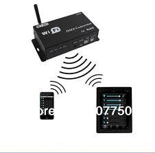 dc 12v wifi dmx converter controler wifi310 model used for iphones